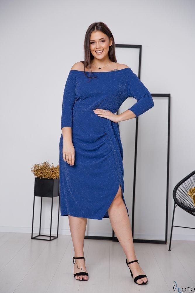 Chabrowa Sukienka SISIE Plus Size