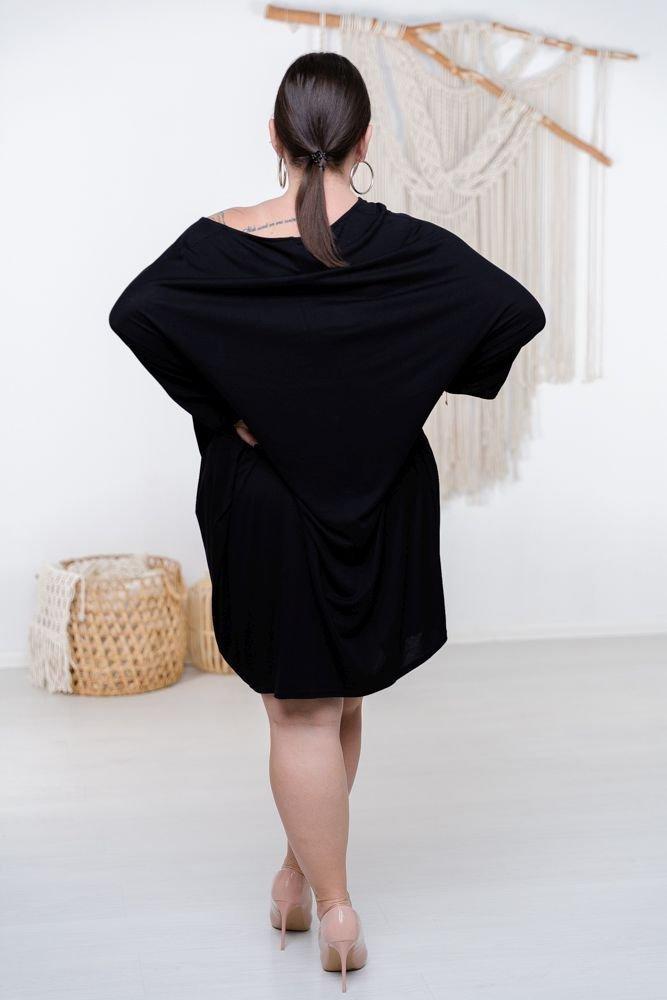 Czarna Sukienka HERMI