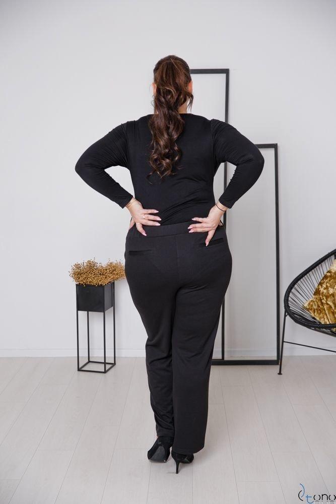 Czarne Body PURES Plus Size