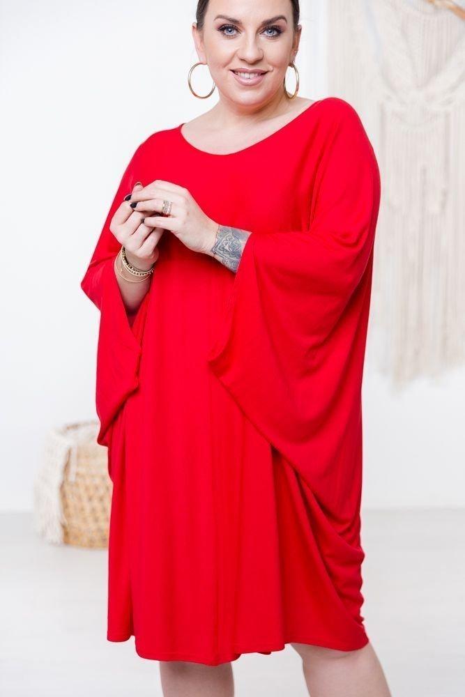 Czerwona Sukienka HERMI