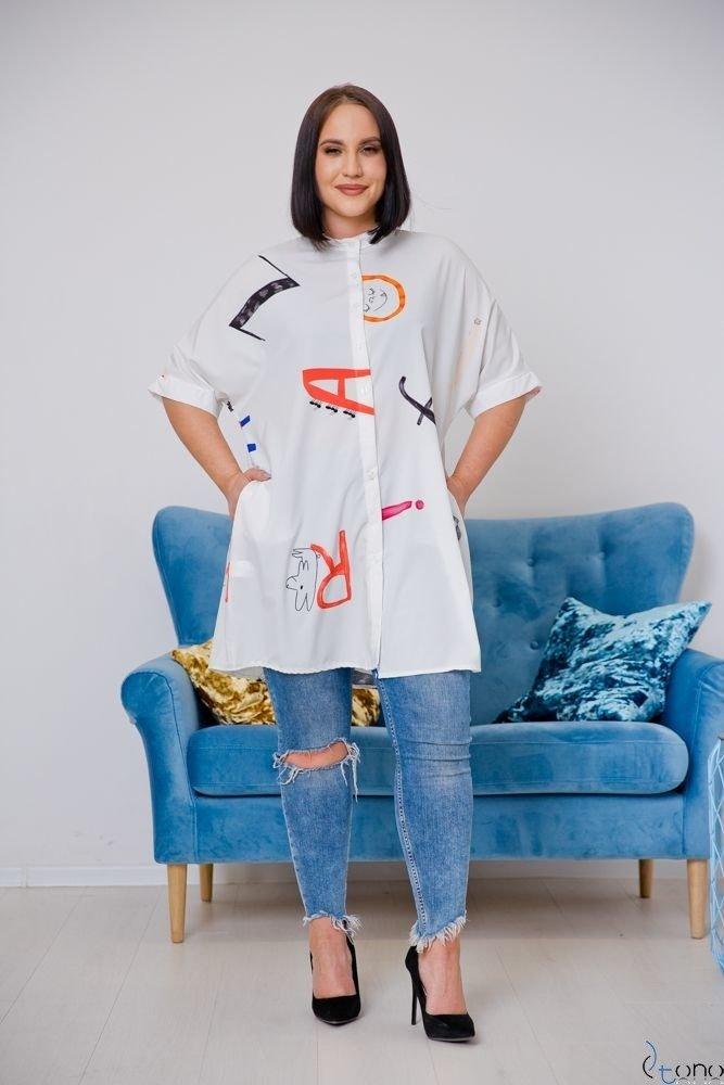 Koszula STAMP Plus Size Wzór 1
