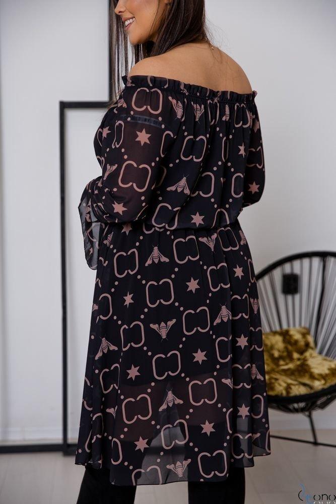 Sukienka ESTREMMA Plus Size Wzór 8