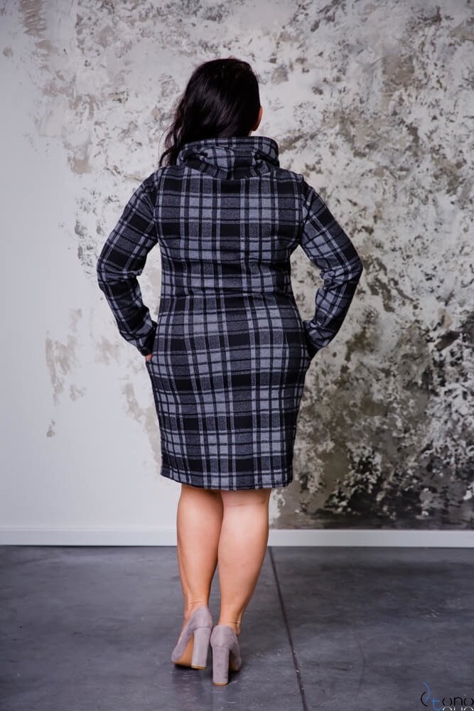 Sukienka GRIDA Plus Size Wzór 2