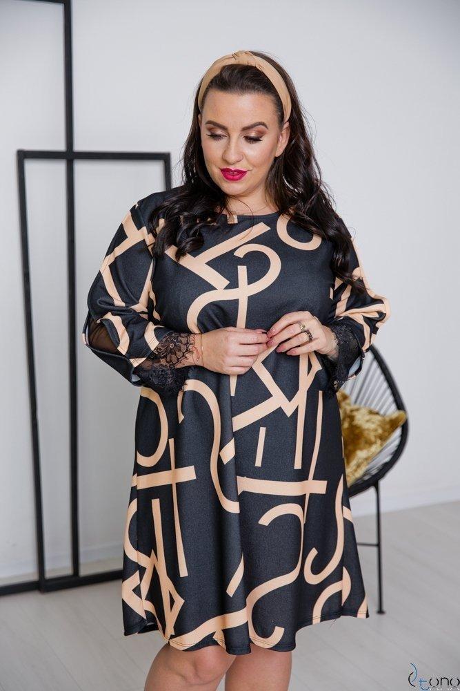 Sukienka LAPIZ Plus Size Wzór 2