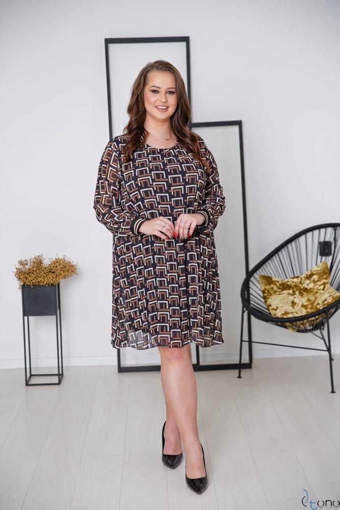 Sukienka LUMMIA Plus Size Wzór 1