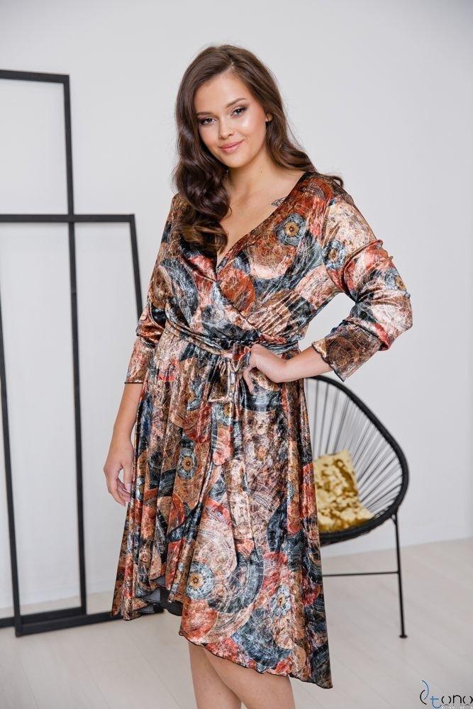 Sukienka RETTA Plus Size Wzór 2