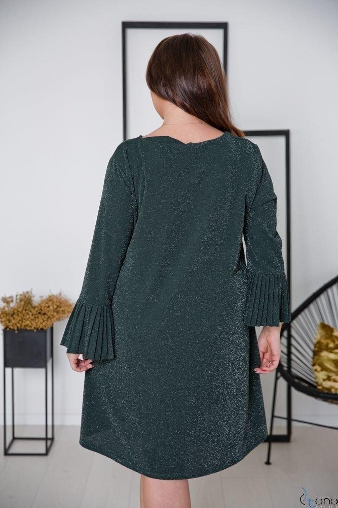 Zielona Sukienka NESIA Plus Size