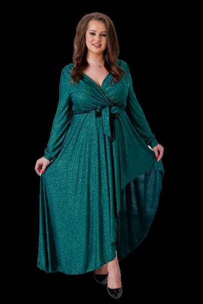 Zielona Sukienka  RIVOLI Plus Size