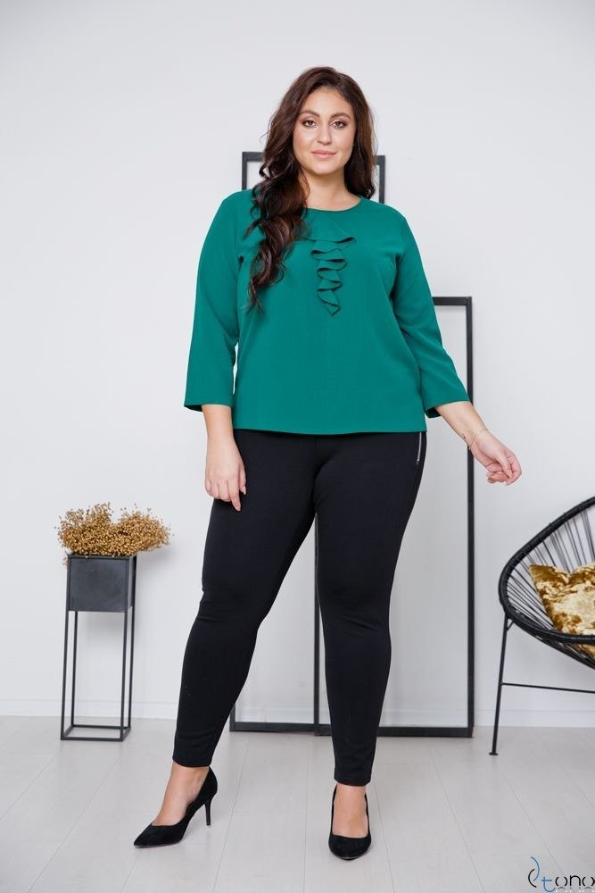 Czarne Spodnie NUTREO Plus Size