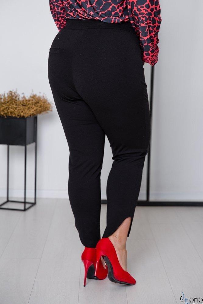 Czarne Spodnie STORM Plus Size