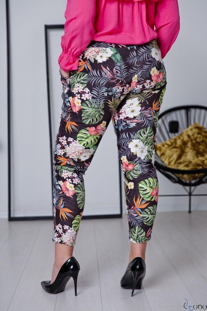 Spodnie MORRENA Plus Size Wzór 4