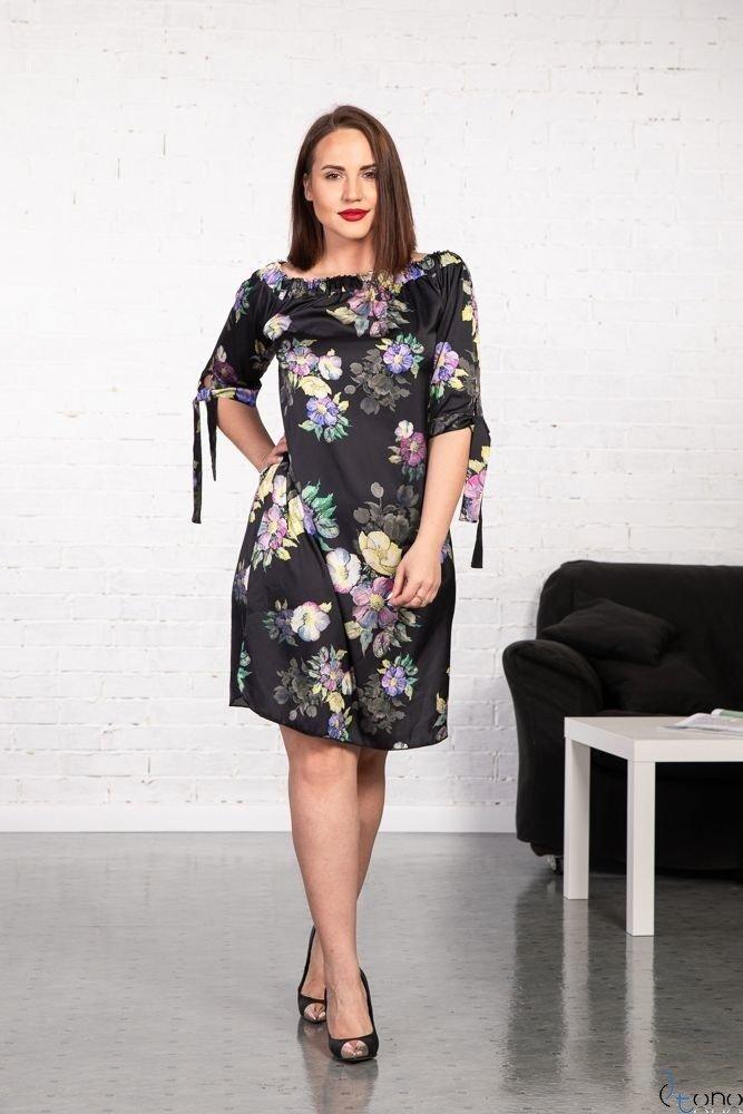 Sukienka VALENCIA Hiszpanka Plus Size Wzór 4