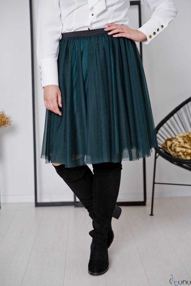 Zielona Spódnica FERRY Plus Size