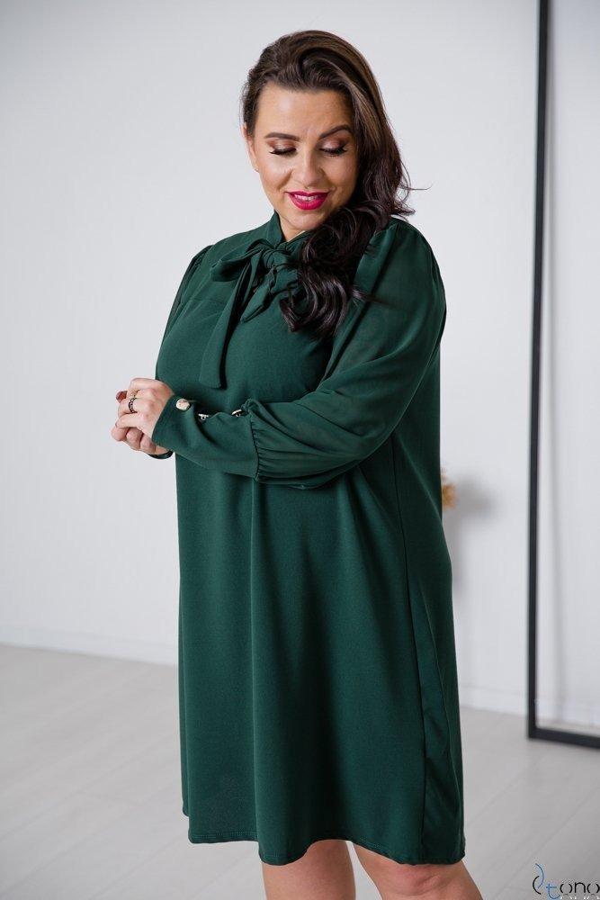 Zielona Sukienka BJORK Plus Size