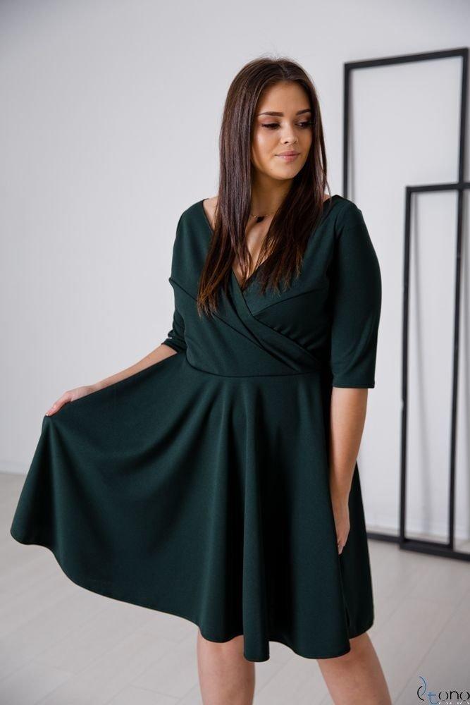 Zielona Sukienka OLINDA Plus Size